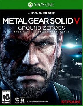 Xone METALGEAR SOLID V GROUND ZERO USA(メタルギアソリッドV グランドゼロズ 北米版)〈Konami〉