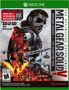 XboxONE Metal Gear Solid V:The Definitive Experience(メタルギアソリッドV:デフィニティブエクスペリエンス 北米版)〈Konami〉10/11発売
