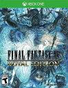 XboxONE Final Fantasy XV Royal Edition US(ファイナルファンタジーXVロイヤルエディション 北米版)〈Square Enix〉[新品]