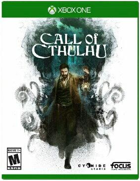 XboxONE Call of Cthulhu(コールオブクトゥルフ 北米版)〈Maximum Games〉[新品]