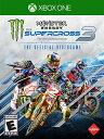 XboxONE Monster Energy Supercross-The Official Videogame 3 北米版[新品]
