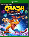 XboxONE CRASH BANDICOOT 4:IT'S ABOUT TIME*Case damage 北米版[ケースダメージ特価品]