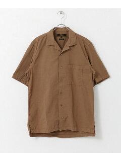 JP Seersucker Box Shirt UF85-13B006: Brown