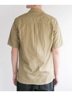 JP Seersucker Box Shirt UF85-13B006: Beige