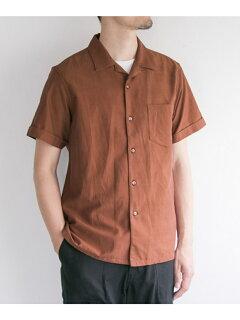 JP Silk Twiil Box Shirt UF85-13B011: Rust