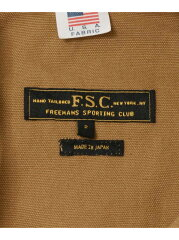 Freemans Sporting Club JP US Duck Hunting Jacket UF86-17B007: Brown