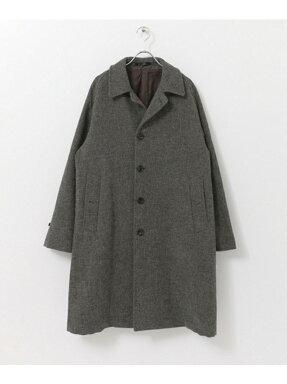 Freemans Sporting Club JP Tweed Overcoat UF86-17B003: Grey