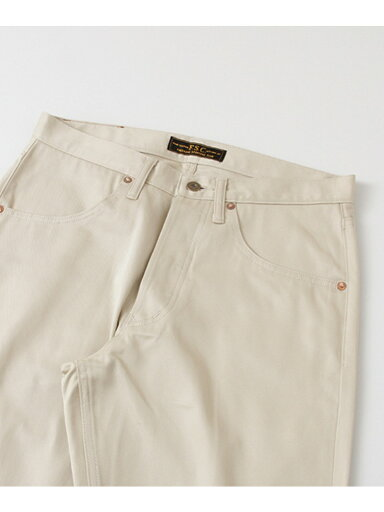 Old Twill Tapered 4-pocket Pants UF66-14R005: Off White