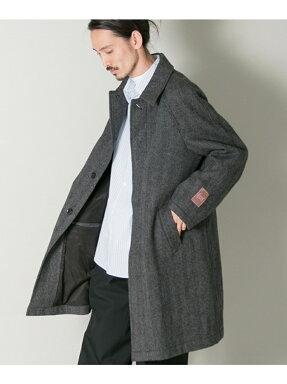 Urban Research Lovat Herringbone Tweed Raglan Coat UR77-17M006