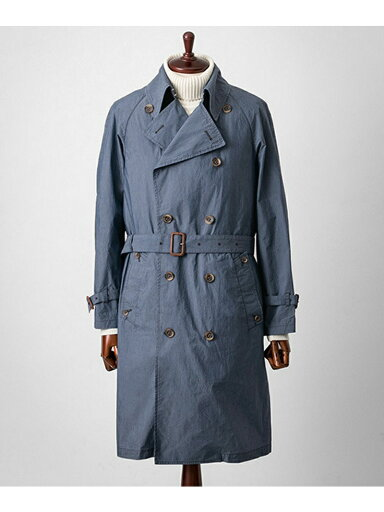 Urban Research Tailor Indigo Trench Coat UT52-17K013
