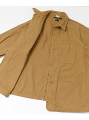 Freemans Sporting Club JP US Chore Jacket UF86-17B010: Brown