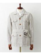 Freemans Sporting Club Linen Cotton Canvas Safari Blouson UF64-17R021