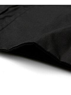 Cotton Nylon Mackinaw Coat UF52-17R018: Black