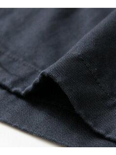 JP Cotton Linen Drill Shop Coat UF64-17R024: Navy