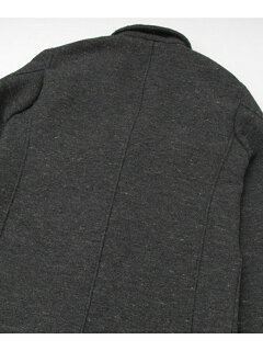 JP Wool Cotton Shacket UF52-17R007: Charcoal