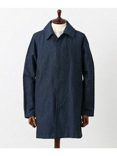 JP Cotton Linen Ottoman Coat UF64-17R026: Blue