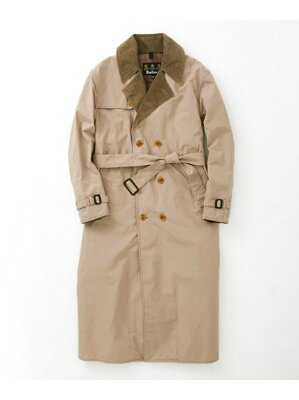 【dl】URBAN RESEARCH Barbour 別注TRENCH COAT アーバンリサーチ【先行予約】*【送料無料】