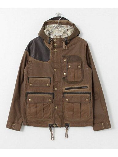 Waxed Mountain Parka MWX0823: Brown