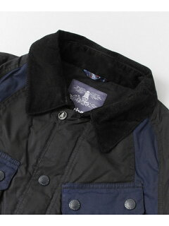 Bleakazuma Wax Jacket MWX0915: Navy