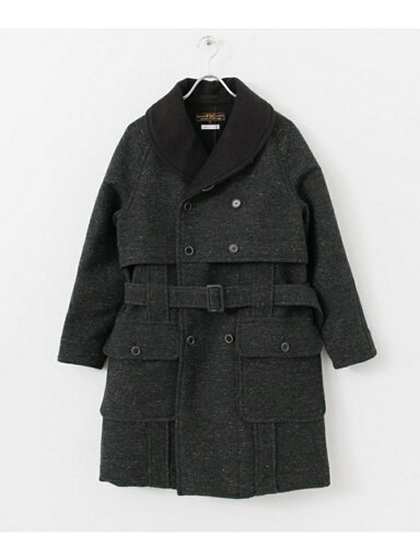 Freemans Sporting Club Wool Cotton Mackinaw Coat UF52-17R006