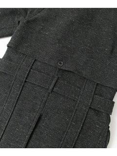 Wool Cotton Mackinaw Coat UF52-17R006: Charcoal