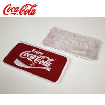 【ajito】COCA-COLA コカ・コーラ ワッペン エンブレム 文字 USA モーターステッカー ヴィンテージ コレクション デッドストック
