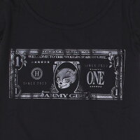 ARMYGIRLNO006BILLDESIGNT-SHIRTアーミーガールロゴ紙幣マネーデザインTシャツメンズブラックホワイトスカルユニセックスカーファッションポルシェPORSCHEレースクイーンカーアパレルペアルックハイクオリティメイドインジャパンMADEINJAPAN