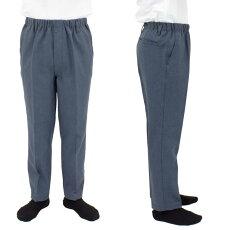 メンズイージーらくらくスラックス風パンツシニアファッション60代70代80代シニア向け服衣料介護用品老人高齢者お年寄りプレゼントシニアファッション男性紳士服ズボンボトムス(春物夏物)通販敬老の日