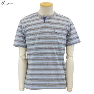 トロイ TOROY Tシャツ 半袖 ポケット付き キーネック シニアファッション 春夏 60代 70代 80代 90代 敬老の日 父の日 高齢者 おしゃれ 普段着 メンズシニア 男性 紳士服 おじいちゃん お年寄り