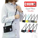 【iPhone8 PlusやMax収納可能】チャムス Chums スマートフォンショルダーバッグ (ch60-2683) ……