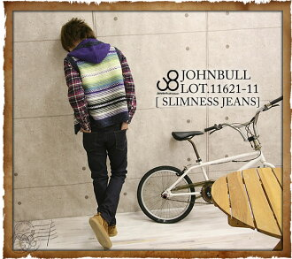 JOHNBULL ( jumble ) material stretch スリムネス jeans (denim & pants-11621-11) (men) / / Rakuten /fs3gm