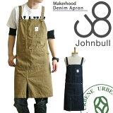 ジョンブルレディースメンズJOHNBULLmakerhoodメイカーフッドダック&ワンウォッシュデニムワークエプロン(ja012/ja007)ジョンブルサロペット10P11Mar16