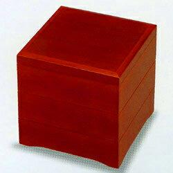 6.5寸 三段重箱 春慶塗り