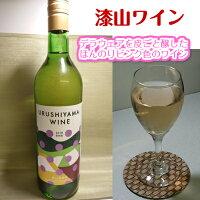 漆山ワイン720ml人気のデラウェアを皮ごと醸したオリジナルワイン