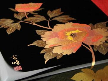 文庫牡丹加伏 【木曽の漆器よし彦】