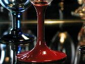 ワイングラス漆塗り 赤 【木曽の漆器よし彦】