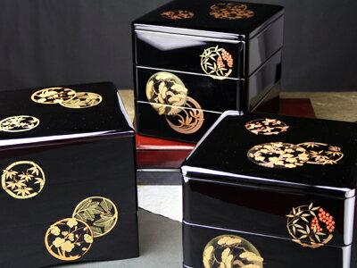 【レンタル】三段重箱【木曽の漆器よし彦】