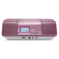 ケンウッド_CLX-30-P_iPod/iPhone対応_CD/SD/USBパーソナルオーディオシステム_ピンク