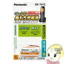 BK-T412 パナソニック 充電式ニッケル水素電池 (パナソニック KX-FAN57・NTT コードレスホン電池パック-P2 同等品)