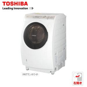 送料無料!(北海道・沖縄・離島除く)【設置込】東芝 9.0kg ドラム式洗濯乾燥機[左開き]洗濯槽お...