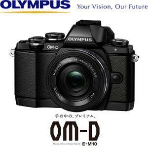 送料無料!(北海道・沖縄・離島除く)オリンパス ミラーレス一眼レフカメラ OLYMPUS OM-D E-M10 ...