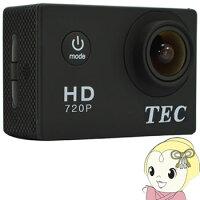 TACAM720_TEC(テック)_2.0型液晶搭載HDアクションカメラ_応防水ケース付