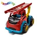 ◎VIKINGTOYS バイキングトイズ マイティ ファイヤートラック 156172[1歳 男の子 おもちゃ 車 消防車 はたらく車 働く車 乗り物 玩具 こども 子ども キッズ ベビー]