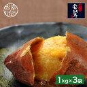◎種子島産安納芋 甘蜜焼芋 1kg×3袋 FPA-3K[桜島の溶岩を使った安納芋の焼き芋 冷凍のさつまいもが3kg 鹿児島県産さつまいも おすすめの美味しいさつま芋 糖度が高い甘いやきいも] メーカー直送