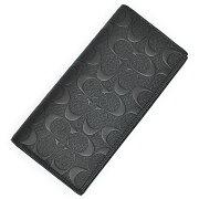 シグネチャー クロスグレイン ブレスト ポケット ウォレット ブラック
