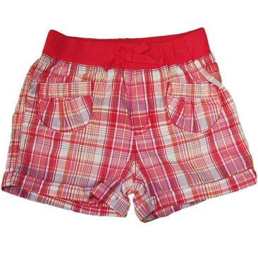 チルドレンズプレイス THE CHILDREN'S PLACE 女の子ピンクマドラスチェックポケットショートパンツ 半ズボン 【ラ・クーポンで送料無料】【楽ギフ_包装選択】