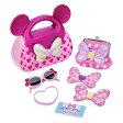 Disney ディズニー Minnie Mouse ミニーマウスお財布買い物ごっこ超豪華12点セット コインケース サングラス 鏡 ミラー さいふ カバン 鞄 ままごと 飯事 ままごと遊び 【ラクーポンで送料無料】