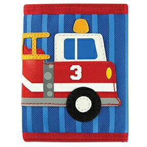ステファンジョセフStephenJoseph男の子用ブルー消防車のお財布ファイアトラック柄小銭入れ青小物入れベビー用ポーチ乗り物デザインのさいふ自動車子供用財布【ラクーポンで送料無料】