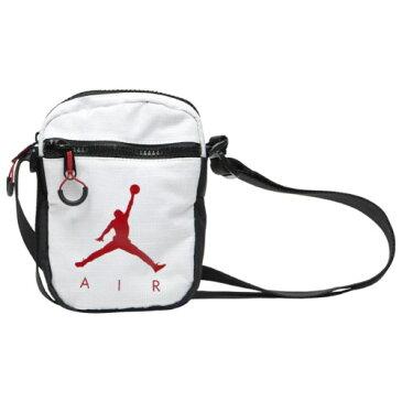 【送料無料+P3倍】ナイキ Nike ジョーダン Air Jordan Jumpman Air Festival ボディバッグ (White/Gym Red/Black) クロスボディバッグ ウエストポーチ ウエストバッグ