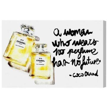 【送料無料+割引クーポン】【まとめ買い割引★2枚目5%+3枚目10%OFF】 Oliver Gal オリバーガル 約152x102cm Perfume in the Future Chanel シャネル インテリア 絵画 衣替え 引越し祝い 引っ越し祝い